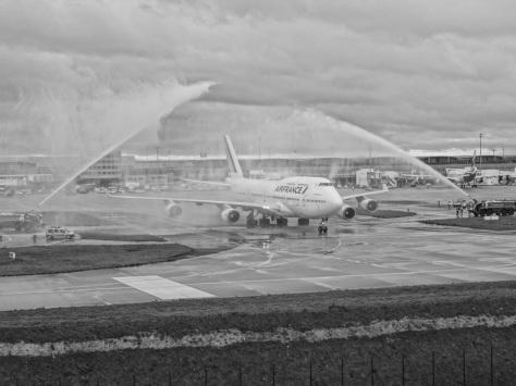 Le dernier vol 747-400 d'Air France