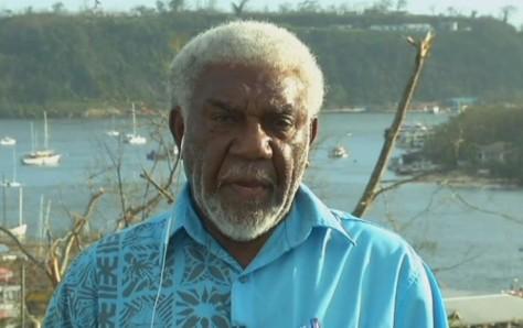 Joe Natuman leader du Vanuaaku Paty