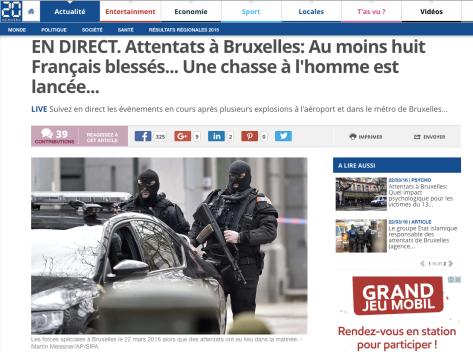 Attentat à Bruxelles