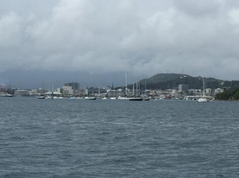 Plus de 300 bateaux au mouillage