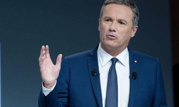 DUPONT AIGNAN SAUTE LE PAS ET SOUTIENT MARINE LE PEN