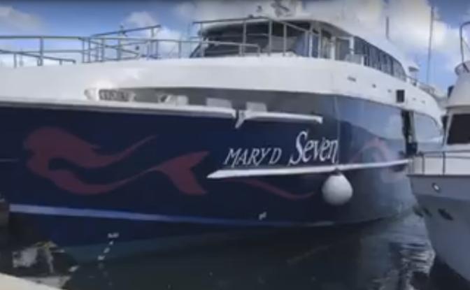 LE MARY D SEVEN EST ARRIVÉ : superbe bateau pour le tourisme calédonien