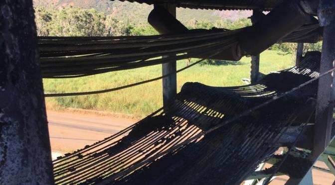 NICKEL : LE TAPIS ROULANT DE KOUAOUA INCENDIÉ – Difficultés d'approvisionnement pour Doniambo ?