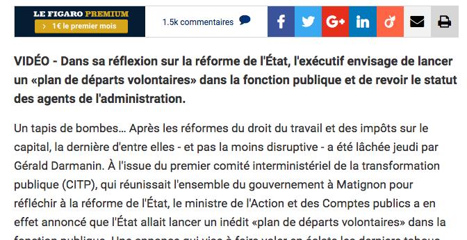 FONCTION PUBLIQUE : LES POLITIQUES DIVERGENTES EN MÉTROPOLE ET EN CALÉDONIE