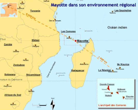 QUE LES MÉDIAS PARLENT DE MAYOTTE : LES COMORIENS Y FUIENT L'INDÉPENDANCE !
