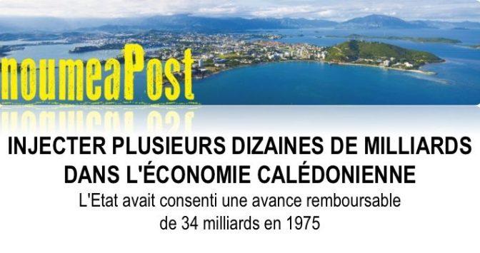 UN INVESTISSEMENT PUBLIC MASSIF POUR EMPÊCHER LA FAILLITE DE LA CALÉDONIE ?