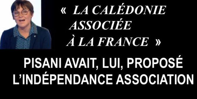 LA MINISTRE DES OUTRE MER VEUT PROPOSER UNE CALÉDONIE «ASSOCIÉE» À LA FRANCE