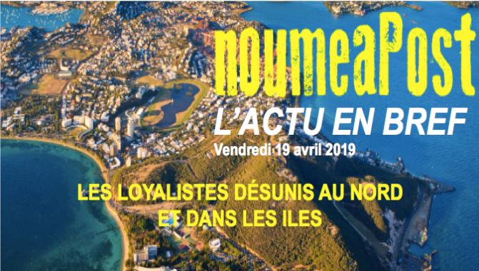 NATATION : LARA GRANGEON CHAMPIONNE DE FRANCE DU 1500M – Pas de listes unitaires pour les non-indépendantistes au Nord et aux Iles – Lutte contre les addictions : Koné fait appel au Pr Milkman
