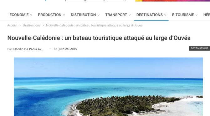 PROMO TOURISTIQUE D'ENFER POUR LA CALÉDONIE : MAIS … C'EST OUVÉA !