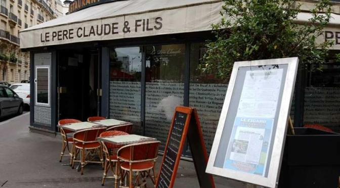 «LE PÈRE CLAUDE» : C'ÉTAIT LA «CANTINE» DE JACQUES CHIRAC