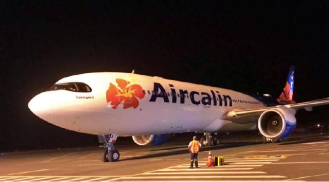 LE SECOND A330 NEO D'AIRCALIN EST ARRIVÉ
