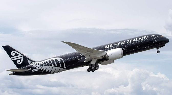 AIR NEW ZEALAND ÉLUE MEILLEURE COMPAGNIE AÉRIENNE DU MONDE